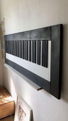 Wood Wall Art Decor, Wall Decor Design, 3d Wall Art, Wooden Wall Art, Wooden Decor, Wood Art, Wood Mosaic, Small Wood Projects, White Wall Art