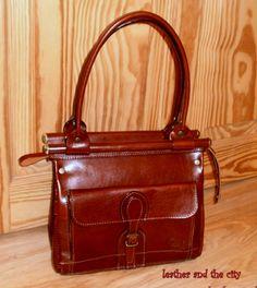 Leather Tote Bag - Ipad Bag - Shoulder Bag Leather Satchel - Briefcase Bag - handbag bags/purse/handbags Bags