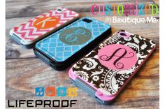 Personalized LifeProof™ iPhone 4/4s Cases - Squares wish I would've known this before I got my life proof case so cute!!!