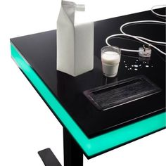Innovative Interactive Auto Height-Adjusting Smart Desk Table // 10 Best SMART Home Technology Devices That Help You Take Control Of Your Life