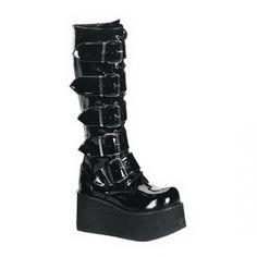 92fd411de5e5d3 Bota Knee High Platform Boots