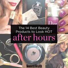 Click through for 14 of the best beauty products to look HOT after hours! #WHBeautyAwards