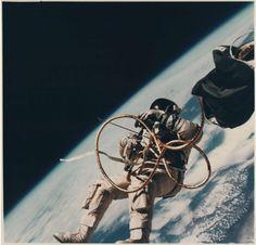 "© NASA - Courtesy of Daniel Blau Munich/London - ""Ed White Floating in Space"", June 1965"