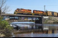 RailPictures.Net Photo: Ottawa Valley Railway EMD GP38-2 at Sudbury, Ontario, Canada by davehewitt