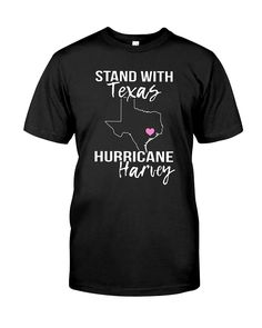 cb95deedb472 CHECK OUT OTHER AWESOME DESIGNS HERE! Hurricane Harvey T-Shirt, I Survived  Hurricane