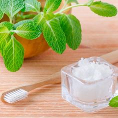 Homemade Remineralizing Toothpaste by @draxe