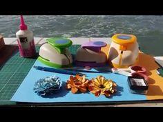Férias verão com Flores de Scrapbook - YouTube