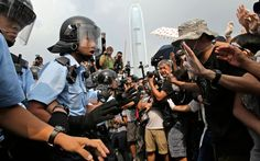 Umbrella Revolution Hong Kong, Students vowed to continue their occupation after Leung announced that the government was willing to hold talks with the