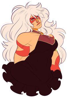 Jasper in a dress