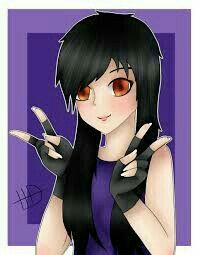 Malachis stepmother Aphmau. I wish i was with Malachi.... NVM I still have my friends :D