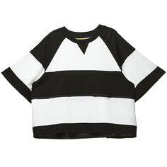 ::: LUCKY CHOUETTE ::: Bold Stripe Loosefit T-Shirt