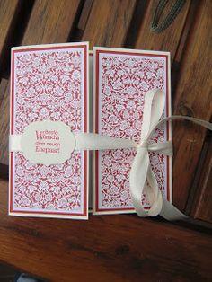 Stampin Up Hochzeitskarte mit Perfekte Pärchen