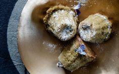 Små muffins med grøn te