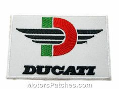 Ducati Embroidered Patches Motorcycles Bikes Club
