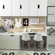 Ikea Kids Chairs, Ikea Kids Desk, Ikea Girls Room, Ikea Kids Playroom, Ikea Kids Bedroom, Girls Bedroom Storage, Kids Workspace, Creative Kids Rooms, Cool Kids Rooms