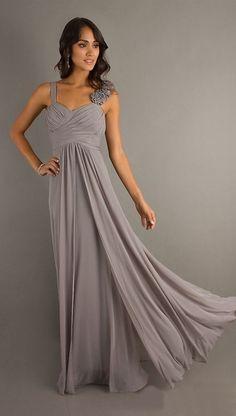 Silver Semi Formal Evening Dresses
