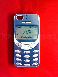 15 Cool iPhone Cases That Double As Statement Pieces: Vintage Nokia $14.95; KrezyCase/Etsy