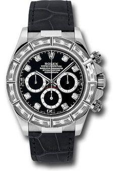 Rolex Watches: Daytona White Gold - Diamond Bezel 116589BRIL