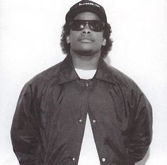 Easy-E, one of the kings of hip hop