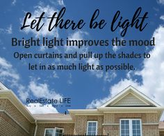 Let the light in! Marketing Data, Real Estate Marketing, Real Estate Tips, Australia, Beach, Water, Life, Outdoor, Inspiration