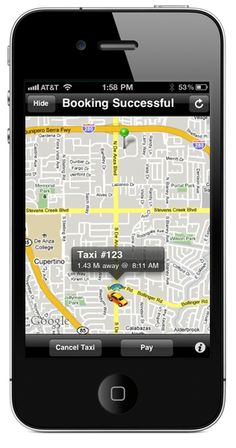 Taxi Magic - award-Winning app for both the iPhone & iPad. Lets you book a cab anywhere in the US and offers live updates on where the cab is on a map! #apps #iphone #ipad