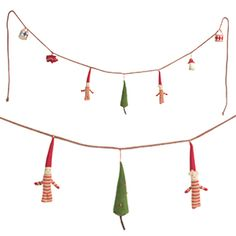*Christmas decorated garland - Maileg Dk