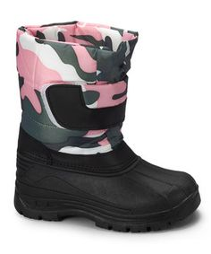 Look at this Pink Camo Boot by Transco Camo Boots, Nina Shoes, Winter Gear, Pink Camo, Winter Wardrobe, Girls Shoes, Toddler Girl, Calves, Fashion Shoes