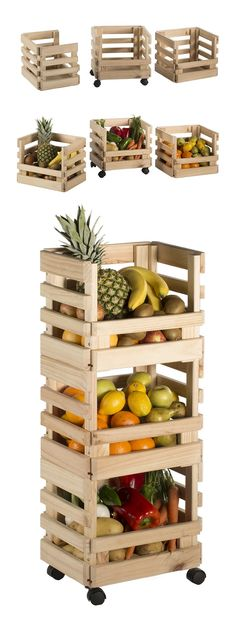 House Plants Decor, Plant Decor, Palette Furniture, Garage Tool Storage, Fruit Shop, Retail Store Design, Pallet Projects, Inventions, Wood Crafts