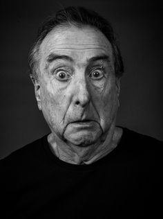LA-based Python Eric Idle is masterminding the troupe's reunion shows, and here he explains why, unlike Terry Gilliam and Michael Palin, he always looks on the bright side of life. Plus read more Monty Python interviews and see them live in London. Face Reference, Photo Reference, Silly Faces, Funny Faces, Eric Idle, Expressions Photography, Monty Python, Face Expressions, Black And White Portraits