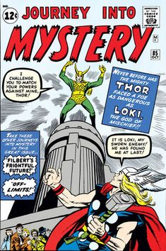 Journey Into Mystery (Marvel, Condition: GD. Third appearance of Thor. First appearances of Asgard, - Available at Sunday Internet Comics Auction. Thor Villains, Comic Book Villains, Marvel Comic Books, Marvel Characters, Silver Age Comics, Best Comic Books, Comic Books Art, Comic Art, Book Art