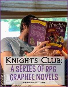Knights Club  is a series of interactive RPG comic books in the  Comic Quests  collection from Quirk Books. Spend an afternoon with your kids using your imagination gathered together around a book. Pick your path and choose your own adventure.  #chooseyourownadventure #comicsforkids #comicquests #graphicnovels #kidsbooks #kidsactivities #roleplaying #dadsuggests Family Games To Play, Family Kids, Reluctant Readers, Family Night, Children's Literature, Book Recommendations, Knights, Childrens Books, Imagination
