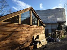 temporary accommodation while building - Custom Built Garden Rooms, Cabins and Timber Buildings