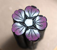 Cane fleur d'après le tuto de Cacofim | Gaelia