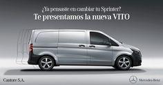 ¿Ya pensaste cambiar tu #Sprinter? Nueva #VITO de #MercedesBenz