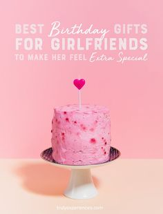 20 Best Birthday Gifts for Girlfriends to Make Her Feel Extra Special 16th Birthday Gifts, Birthday Gifts For Best Friend, Birthday Gifts For Girlfriend, Gifts For Your Girlfriend, Sweet 16 Birthday, 50th Birthday Party, Best Friend Gifts, Gifts For Wife, Best Gifts