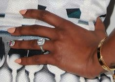 Brandy's engagement ring from Ryan Press | Photo Credit: Getty
