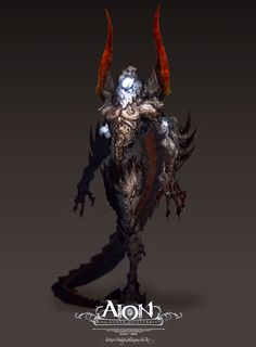 The Balaur - The Art of Aion Online