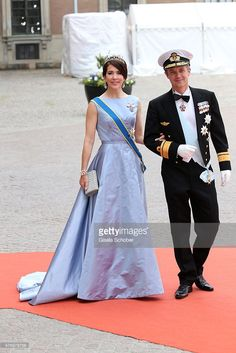 Crown Prince Frederik of Denmark and Crown Princess Mary Of Denmark attend the royal wedding of Prince Carl Philip of Sweden and Sofia Hellqvist at The Royal Palace on June 13, 2015 in Stockholm, Sweden.  (Photo by Gisela Schober/Getty Images)