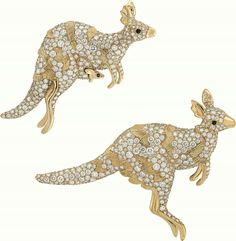 """Van Cleef & Arpels presents its new High Jewellery collection – """"L'Arche de Noé racontée parVan Cleef & Arpels"""" – during the month of September with an exhibition open to the public and free at the Hotel d'Evreux. Kangaroos"""