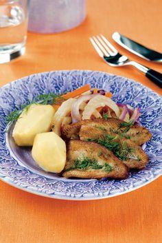 Paistetut ahvenfileet ja fenkolilisäke | Kalaruoat | Pirkka *#food #fish