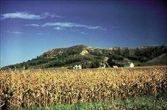 Beautiful Loess Hills in Western Iowa