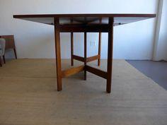 #George #Nelson #Gate #Leg #Drop #Leaf #Table #Midcentury #Modern #Vintage #Design #Furniture #DenMøbler #American