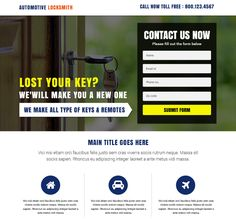 15 best free lead generation landing page templates images on ...
