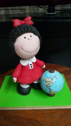 El #Mundo segun #Mafalda #porcelanafria
