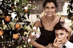 Bianca Balti Stars in the Dolce & Gabbana Jewelry 2012 Campaign by Giampaolo Sgura
