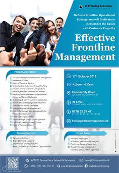 Effective Frontline Management  Effective Frontline Management