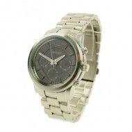#ernest horloge in #zilver in licht geborsteld staal! Een echte eyecatcher! #MK #lookalike http://www.doorzo.nl/horloges/