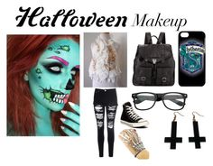 """""""ZOMBIE CHIC"""" by btmorgens ❤ liked on Polyvore featuring Glamorous, Converse, Proenza Schouler and Chicnova Fashion"""