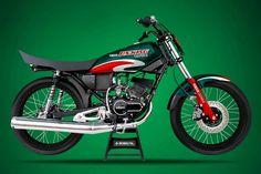 Rx king di modifikasi menjadi look bandung caltex Yamaha Motorcycles, Cars And Motorcycles, Yamaha Rx100, Barcelona Futbol Club, King Cobra, Motorcycle Garage, Honda Cb, King Kong, Custom Bikes
