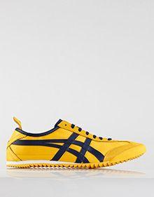 Mexico 66 DX Nylon Sneakers Yellow Blue 571ad5fb8